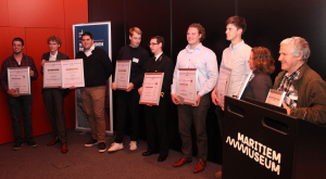 Prijswinnaars Maritime Students Awards